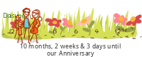 Daisypath Anniversary tickers